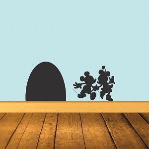 Mouse Hole Wall Decal