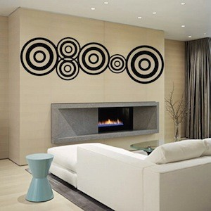 Modern Design Wall Decal Wall Sticker