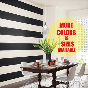 Custom Room Stripes In Many Sizes and Colors