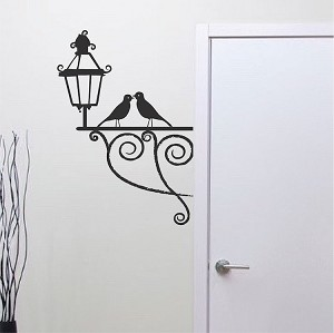 Smoochy Bird Wallpaper Decal
