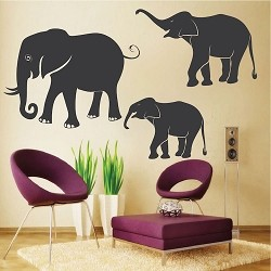 African Elephant Wall Decals