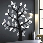 Leafy Tree Wall Art Design