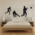 Baseball Players Wall Decals