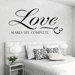 Love Makes Us Complete Wall Decal