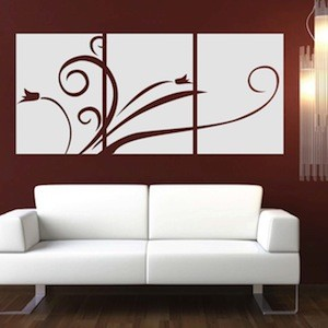 Elegant Panel Wall Decal