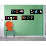 Chalkboard Math Wall Decals