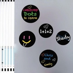 Chalkboard Dot Decals