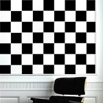 Checkers Wall Decals
