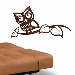 Smart Owl Wall Art Design