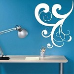 Corner Adornment Wall Decal