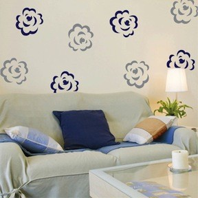 Flower Pack Wall Decal