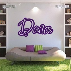 Dance Wall Lettering Decal Sticker