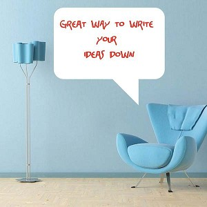 Rectangular Phase Dry Erase Wall Decal