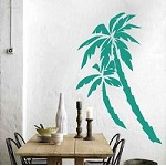 Palm Tree Wall Appliqués