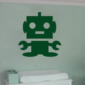 Baby-bot Wall Decal