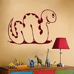 Happy Snake Wall Decal