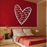 Trendy Heart Wall Decal