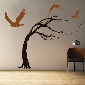 Enduring Tree Wall Decal