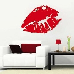 Sexy Lips Wall Decal