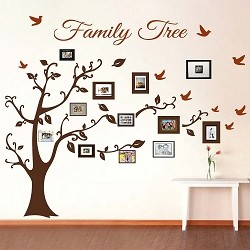 Picture Frame Family Tree Wall Art
