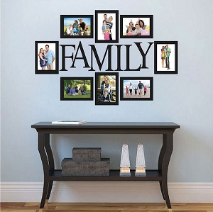 Wall Quote Family Picture Frame