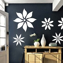 Pleasant Flower Wall Decals