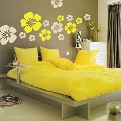 Flower Wall Art Design