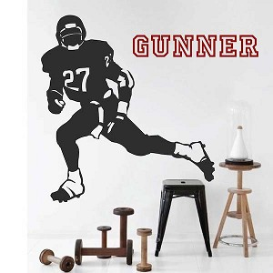 Football Player Wall Sticker