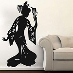 Geisha Wall Decal