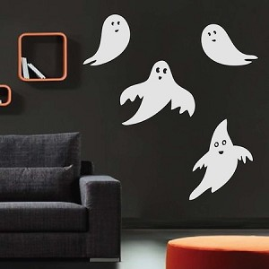 4 lil' Friendly Ghosts Decals