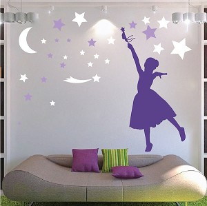 Magical Girl Wall Decal