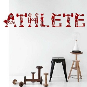 Athlete Decal Design