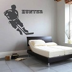 Hockey Player Wall Decal