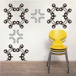 Wrought Iron Wall Decals
