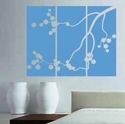 Japanese Branch Panel Wall Murals