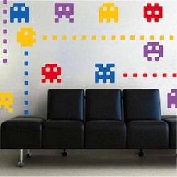 Video Game Room Wall Decals