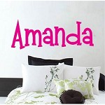 Customizable Mandingo Font Wall Art Design