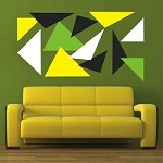 Modern Triangle Wall Decals