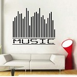 Music Equalizer Wall Decal