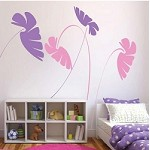 Kids Leafy Stems Wall Decals