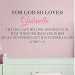 Custom Nursery Wall Quote Decal