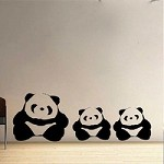 Adorable Panda Wall Decals
