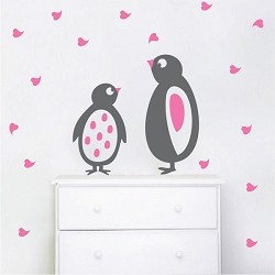 Cute Penguin Wall Decals