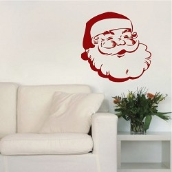 Jolly St. Nick Wall Decal