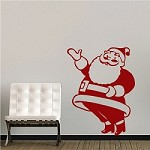 Santa Claus Wall Decal