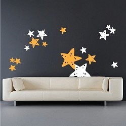 Starfish Wall Mural Stickers