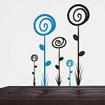 Loopy Flower Wall Decals