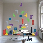 Tetris Wall Art Stickers
