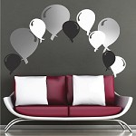Party Balloon Wall Decals