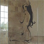 Nude Stretch Art Decal